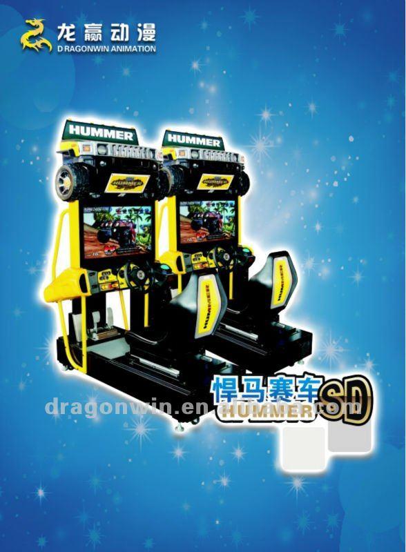 De sega usine conduire la machine de jeu de courses d'automobiles d