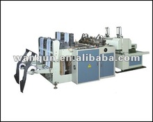 high speed heat sealing& heat cutting plastic bag making machine