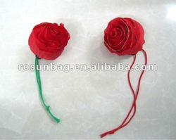 Rose folding shopping bags