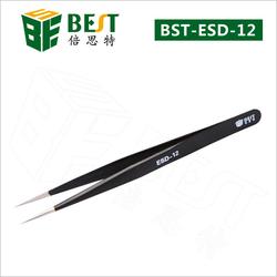 BEST-BSD-12 Practical types tweezers stainless steel