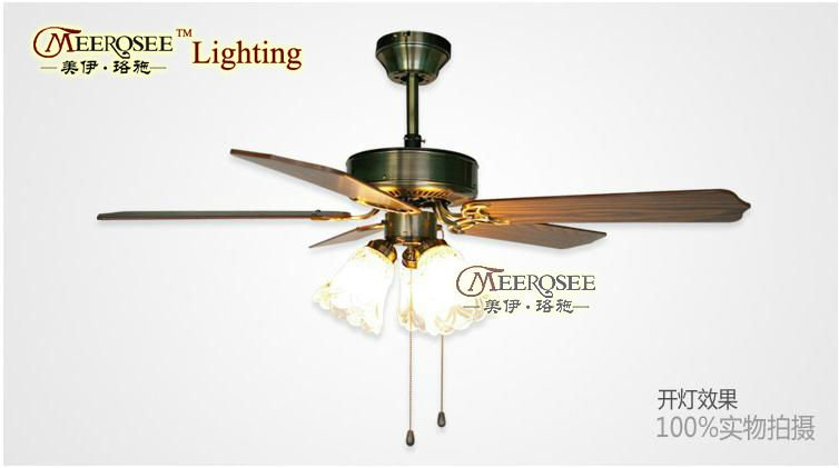 lampadario con ventola : moderno lampada a sospensione con ventola, ottone speciale calata con ...