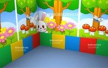 Children PVC wall mat for play center BD-M11111