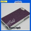 Fashion Leather Coated Football Pattern Chromed Case For Apple iPhone 5 5G