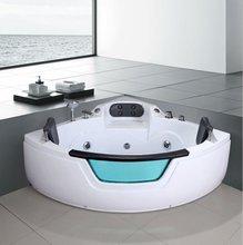 Autme coner cheap acrylic whirlpool bathtub