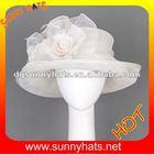 Plain Sinamay Hat for Church Women