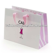 gift paper bag with colorful printing 2012