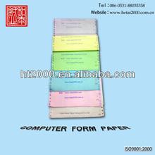 Computer plian form carbonless ncr paper