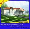Light gause steel villa