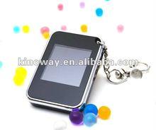 Mini 1.5 inch cute customized digital photo frame keychain