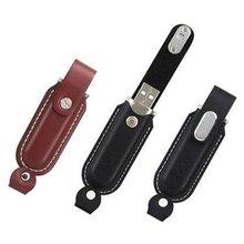 Promotional Leather USB2.0 flash drive/Popular usb drive with CE,FCCRohs/Pen drive/Promotional USB flash,2G 4G 8G 16G