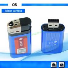 HOT!!!2012 Gift Newest 720*480 lighter dvr Mini Digital Recorder mini dvr recorder ShenZhen HuaZe--Q8