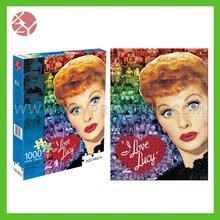 1000 pcs paper print jigsaw puzzle wholesale