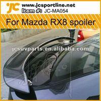 4Door Carbon Fiber RX8 GT Mazda 3 Rear Spoiler