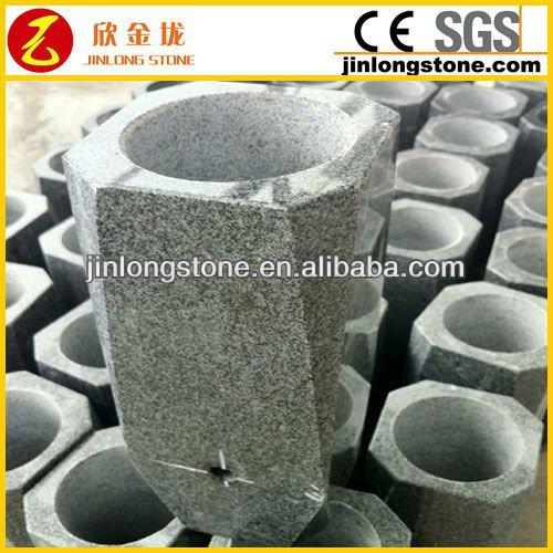 Cheapest granite vase of grave headstone