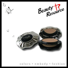 F8014 Beauty Resource new style compact powder make your face more shine
