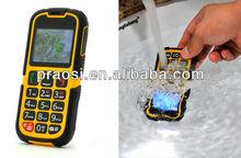 big keypad gps mobile phone for elderly IP68 wateproof shockprood dustproof