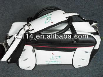 PU Leather Golf Travel Bag