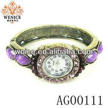 female fashion woven ribbon preparation Watch Bracelet Watch