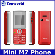 M7 Mini Mobile Phone Dual sim card Quad Band GSM Phone X2-02