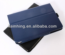 Book Leather case with stylus holder for iPad mini