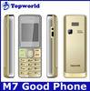 M7 mini mobile phone dual sim quad band cheap bar phone