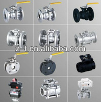 silica sol investment casting ball valves