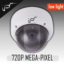 IPS Low lux Dome ip camera support POE ,onvif and P2P function IPS-523