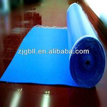 2mm 3mm Blue IXPE adhesive laminate flooring underlayment