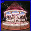 promotion!!!new style merry christmas amusement mini carousel horse