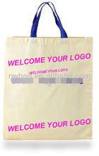 2013 cotton plain recycle promotional bag