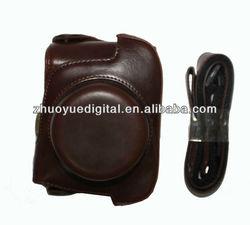 leather digital camera bag case camera Case/Bag/Cover for short lens Panasonic GF2