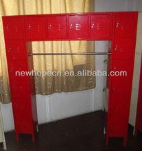 16 person locker steel cabinet