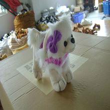 black/white color plush dalmatian dog,stuffed spot dog, plush spotted dog for christmas festival