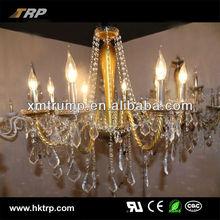 New candle designer crystal gold antique chandelier