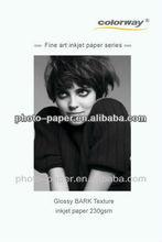 220g Matte fine art inkjet photo paper/ Peal Textured