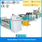 extrusion plastic cast film laminating and embossing machine