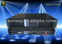 professional pro audio power amplifier
