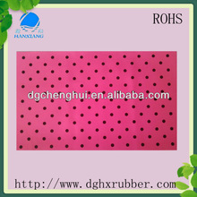 Eco-friendly 2012 hot selling recycled material rubber sheet
