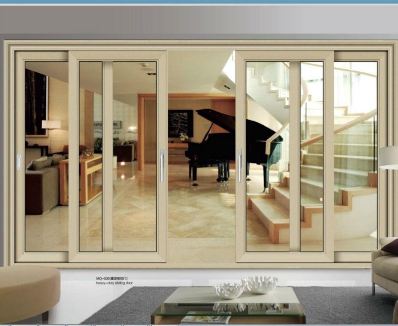 Fabrication of aluminum windows and doors design view for Window and door company