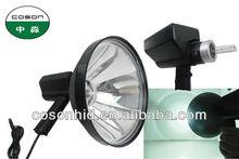 new design 150mm 175mm and 240mm handheld spotlight,hotest super bright handheld hid spot light 240mm ,handheld work light 55w