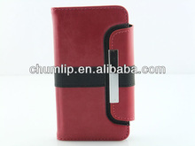 2012 new design Leather case for iphone 5