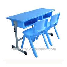 Plastic Desktop Double Student Desk