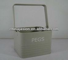 BASKET PLASTIC LAUNDRY STORAGE HANDY BUCKET FLEXIBLE ORGANIZE PEG TUB SOCKS BAG
