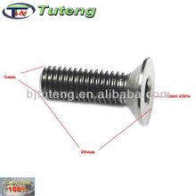 titanium countersunk bolt