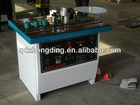 Double side gluing PVC manual edge banding machine