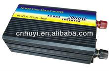 2000W dc12v/24v to ac110v/220v power inverter high quality from ningbo