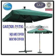 polyester garden umbrella patio with thick cover and crank open strong frame