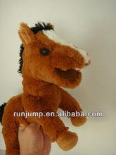 Hot sale Horse Plush Hand Puppet