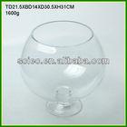 Round Glass Decorative Fish Bowls