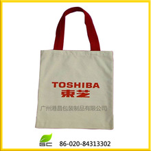 eco friendly canvas handle bag,tote bag from canvas material